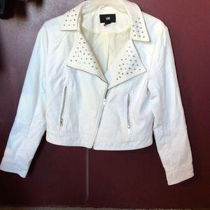 H&M studded jacket